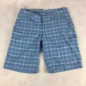 The North Face Plaid Walking Shorts